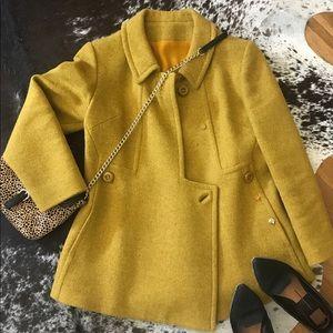 {Vintage} wool coat